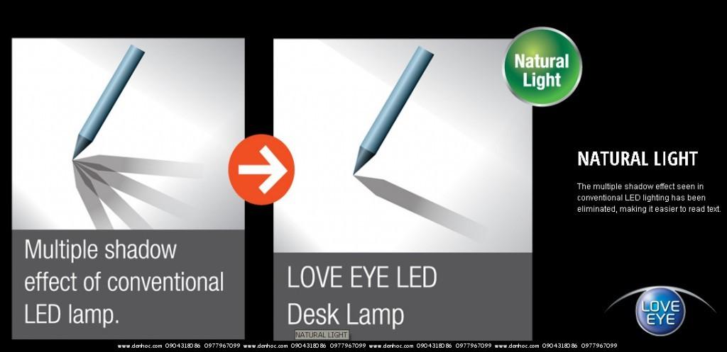Đèn bàn panasonic LE530 chống cận