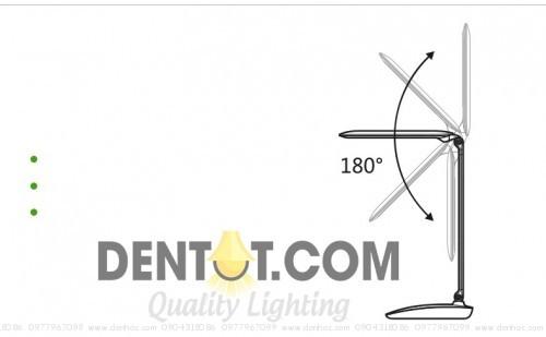 khớp trên đèn có thể xoay 180 độ