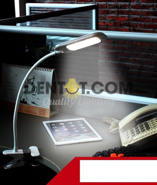 Đèn kẹp bàn LED