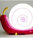 Đèn ngủ tích điền màu hồng đậm