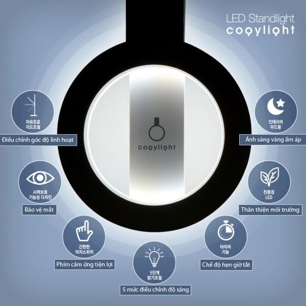 Chức năng của đèn bàn học HÀN QUÔC COGY 180