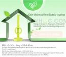Đèn bàn Hàn Quốc Cogy không độc hại cho môi trường