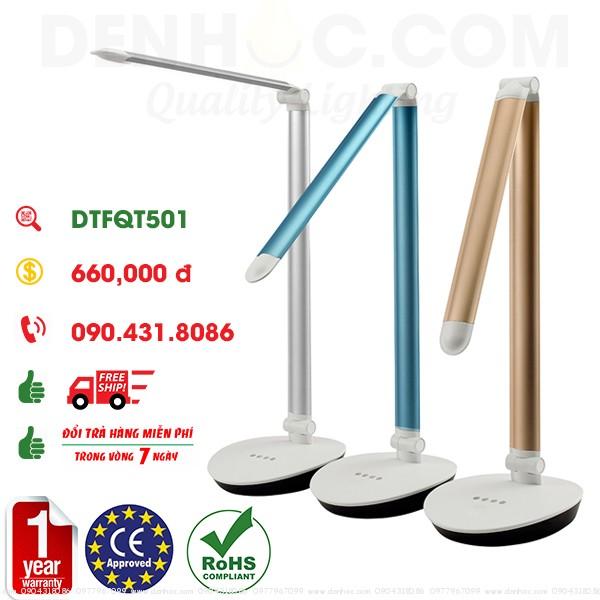 Đèn bàn LED chống cận học sinh DTFQT501