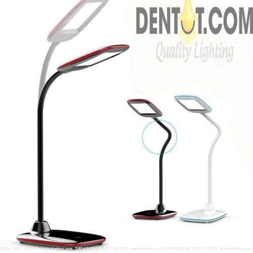 đèn bàn tích điện DTQF1504 với cần uốn xuay linh hoạt