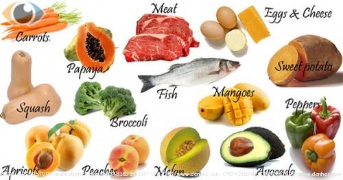 Dinh dưỡng đầy đủ giúp mắt khỏe, chống cận thị