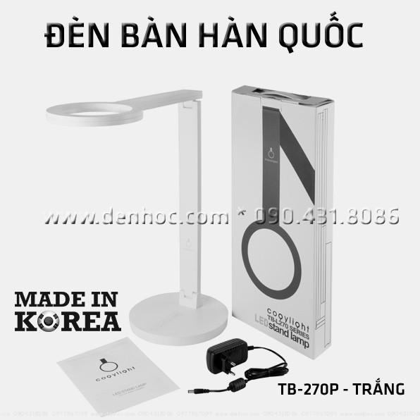 Đèn LED Hàn Quốc để bàn Cogylight 270P - màu Trắng