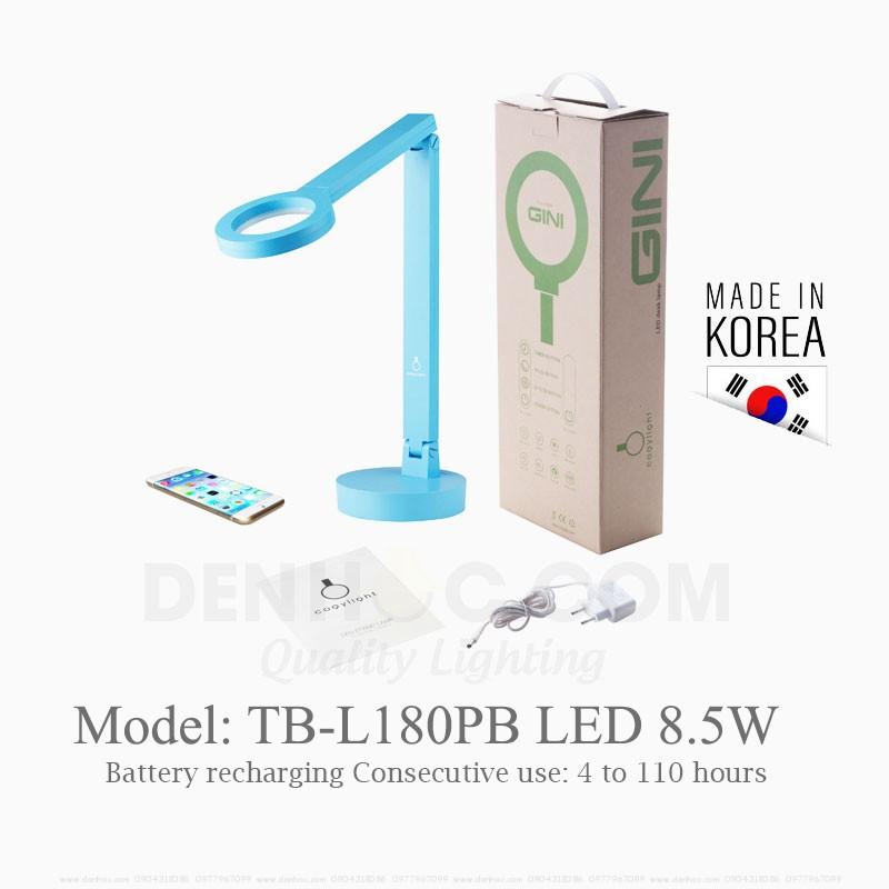 Đèn bàn Cogylight TB-L180PB tích điện 110 giờ