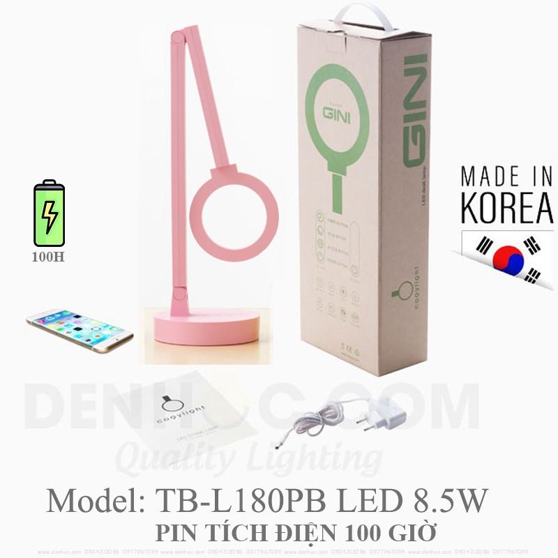Đèn Hàn Quốc chống cận Màu Hồng COGYLIGHT, Pin tích điện 100H