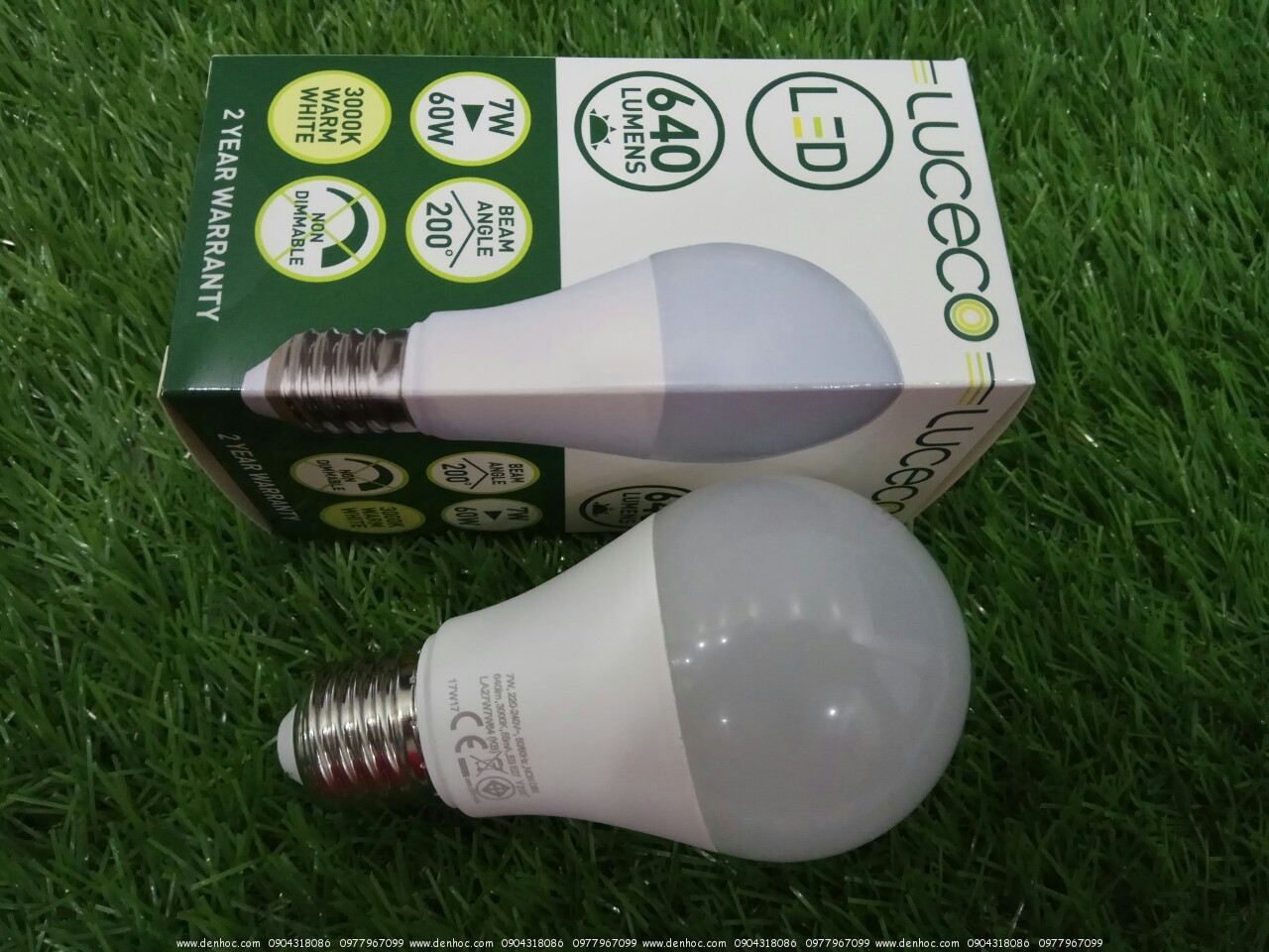 LED UK LUCECO 7W 640LUMEN