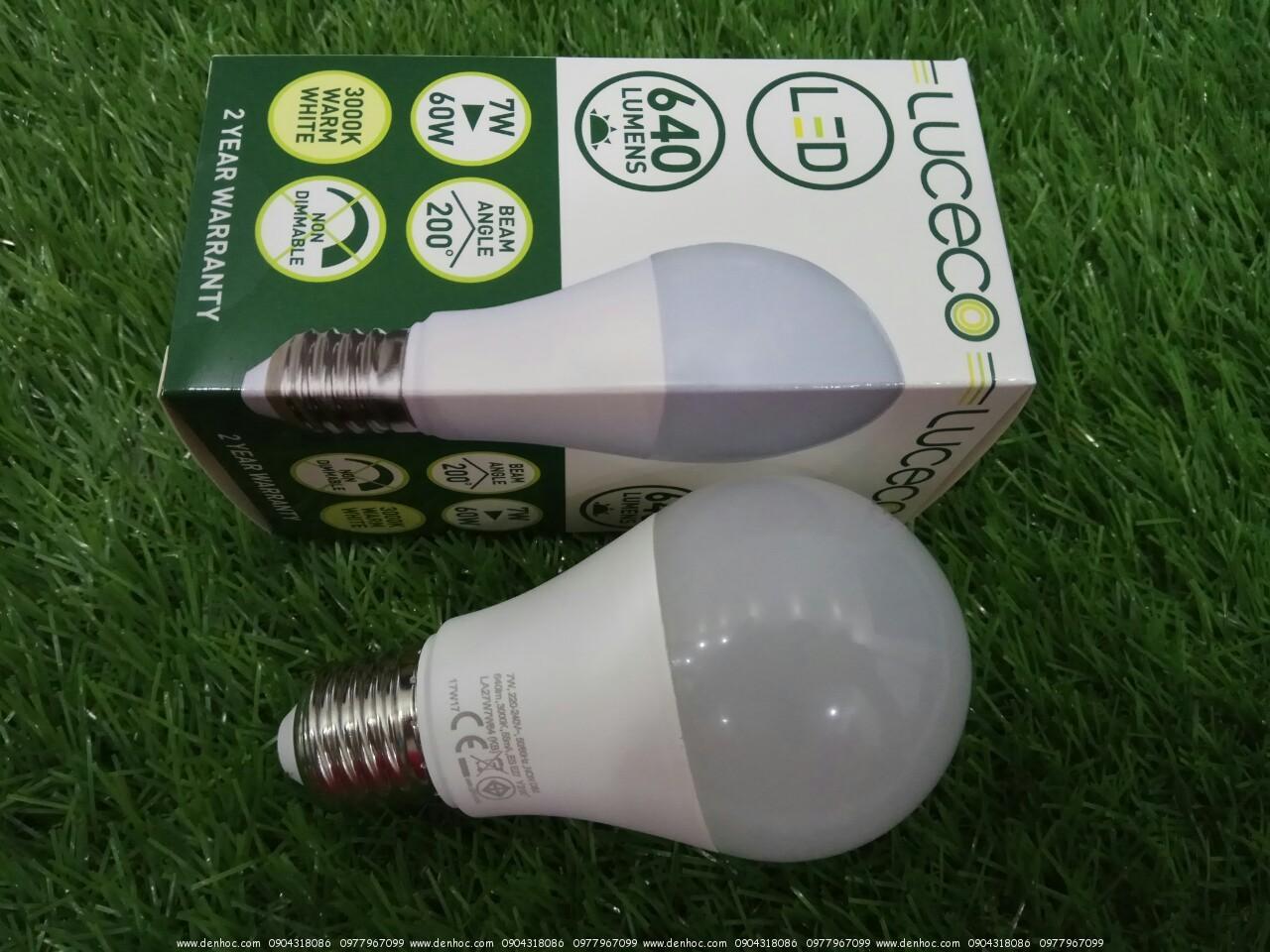 LED UK LUCECO 7W 640LUMEN