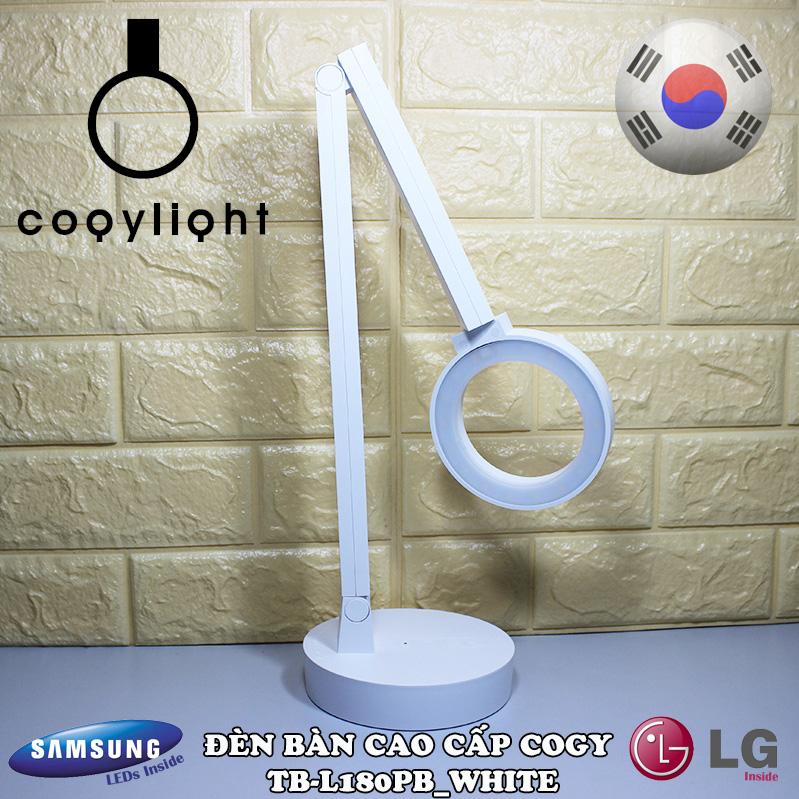 Đèn bàn cao cấp COGY TB-L180PB Trắng