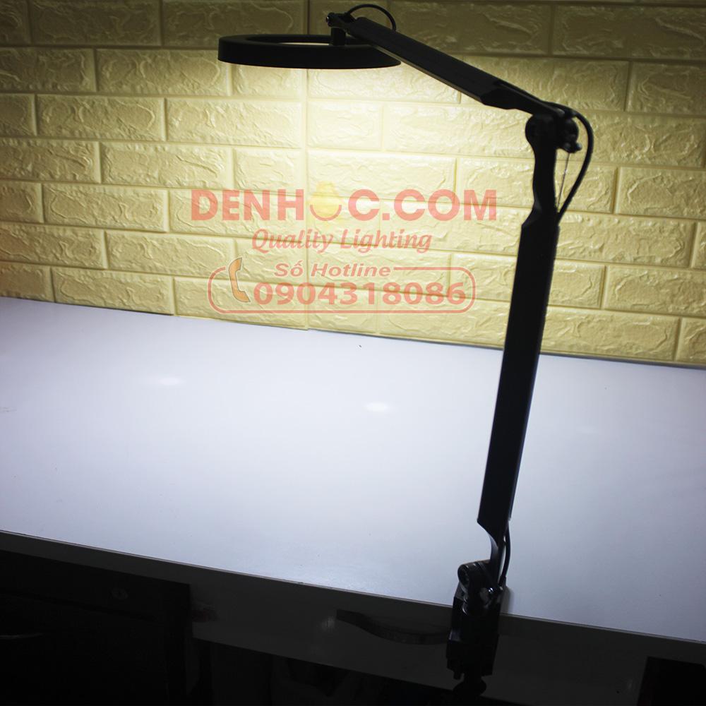 Nguồn sáng LED mạnh mẽ cho quang thông lên tới 900 lumen và độ rọi lên tới 1500 Lux ở khoảng cách 50cm, giúp bạn xử lý những công việc yêu cầu độ sáng lớn nhất