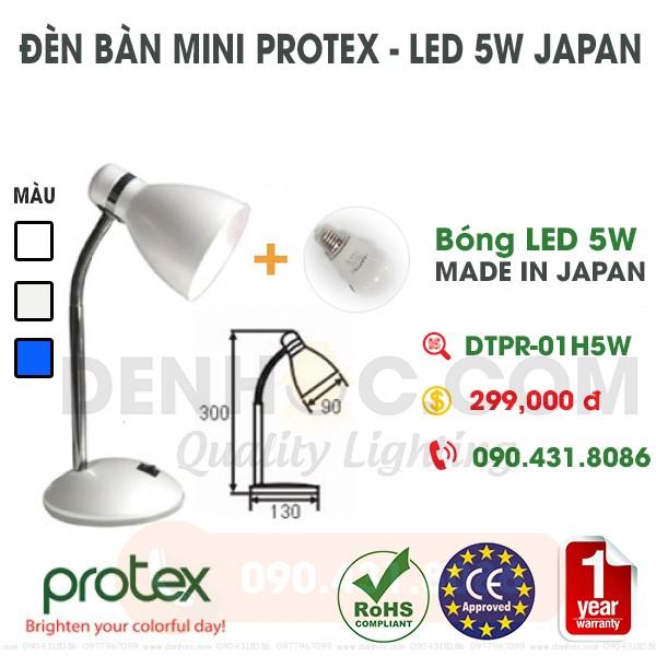 Đèn bàn học mini - LED Nhật Bản 5W cao cấp