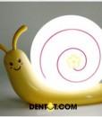 Đèn ngủ tích điện màu Vàng