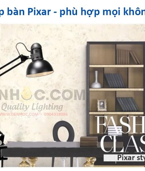 Đèn kẹp bàn Pixar trong không gian cổ điểm