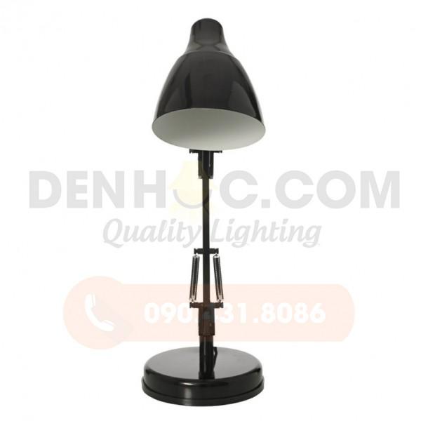 Đèn kẹp bàn màu đen