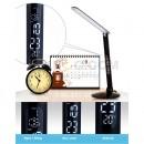 Đèn bàn T7 tích hợp đồng hồ hiển thị ngày giờ, nhiệt kế