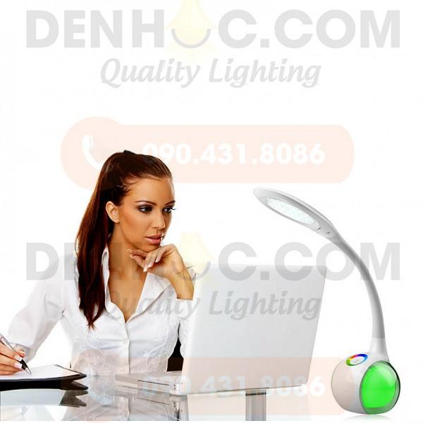Thiết kế hiện đại có thể sử dụng làm đèn học, đèn ngủ, đèn bàn làm việc