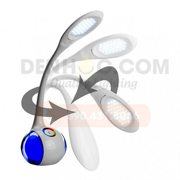 DHCCT3 có thân đèn mềm giúp xoay, bẻ điều chỉnh góc sáng linh hoạt