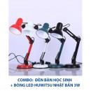 Đèn bàn học sinh bóng LED NHẬT BẢN HUMITSU DTKT800-H3W