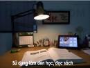 Đèn kẹp bàn Pixar sử dụng cho bàn học tập làm việc cá nhân