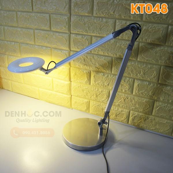 Đèn bàn làm việc LED KT048 Có đế để bàn & kẹp thành bàn