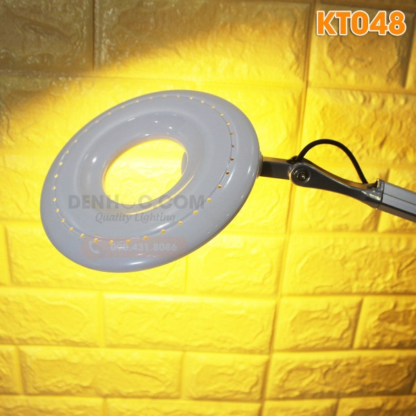 Đèn bàn làm việc LED KT048 ánh sáng vàng WarmWhite dịu nhẹ bảo vệ mắt